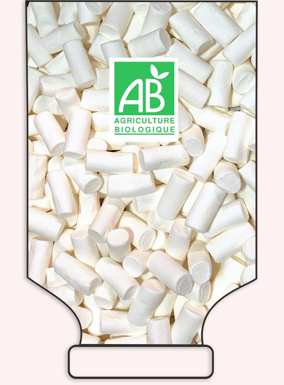 Guimauves saveur vanille en Vrac - réf.1039