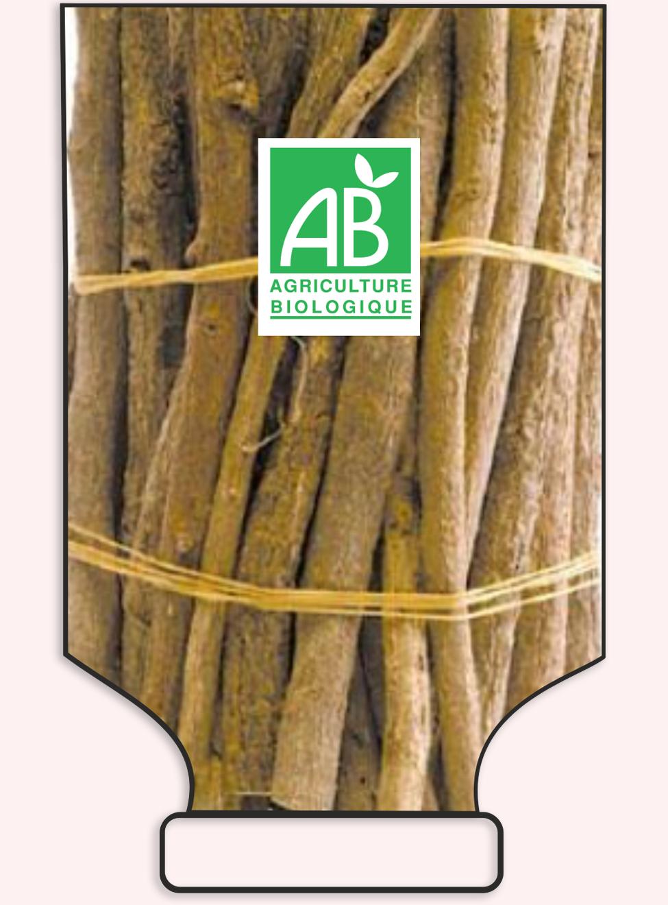 Bâtonnets de réglisse de Calabre - racines de réglisse naturelle - réf 1046