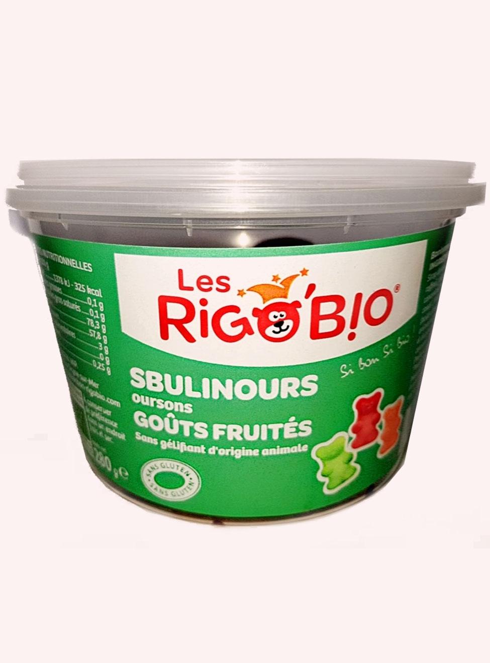 RIGOBIO Sbulinours VEGAN en pot - réf.2811