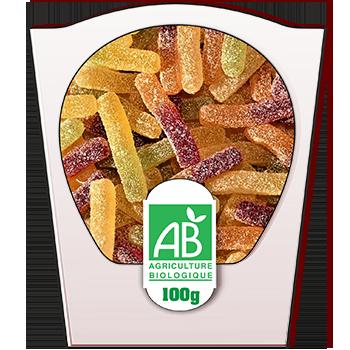 RIGOBIO Sbulifrite fruité - sachet 100 gr- Origine France- réf.2884