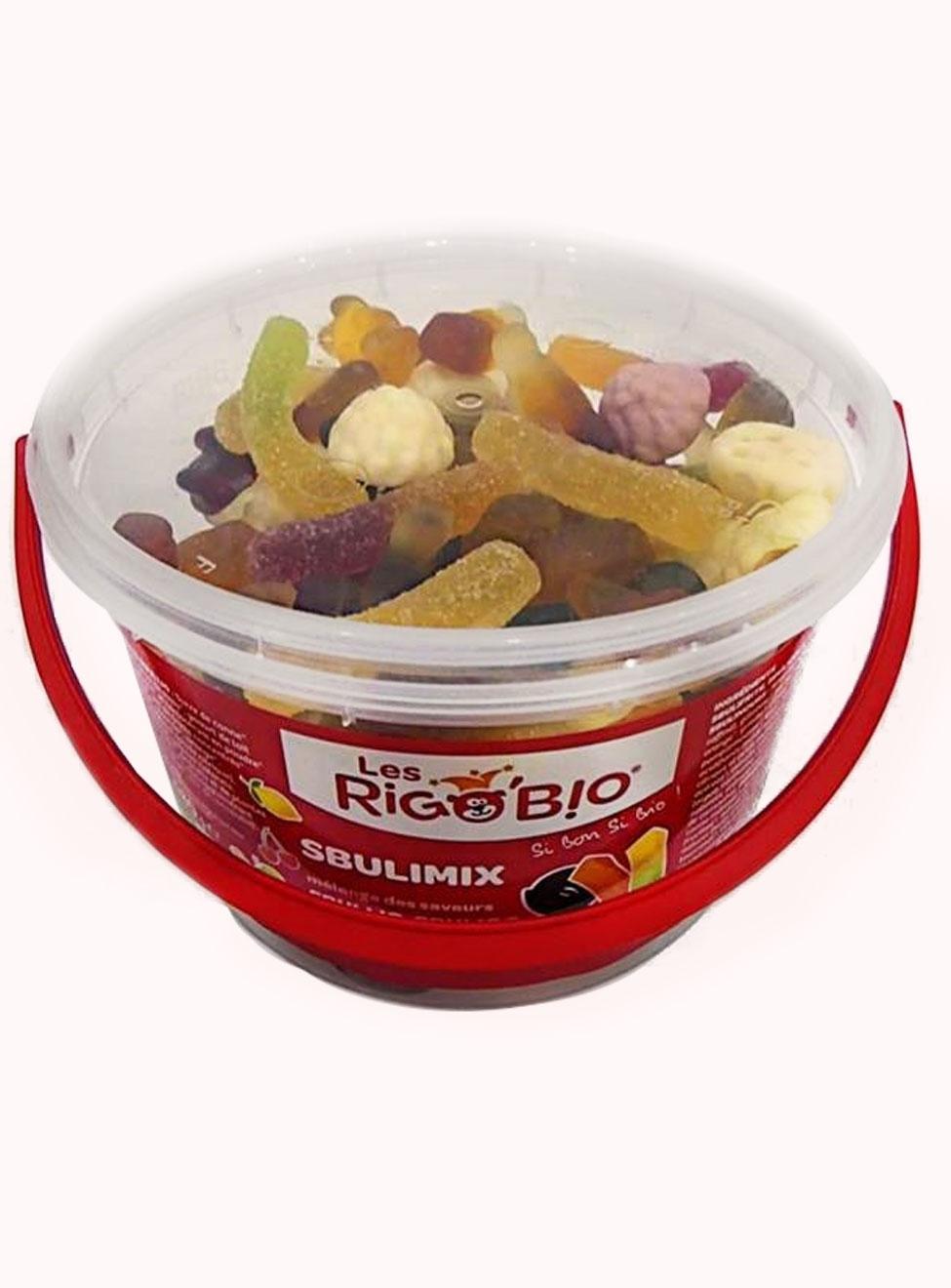 RIGOBIO Sbulimix bonbons mélangés en pot - réf.3410