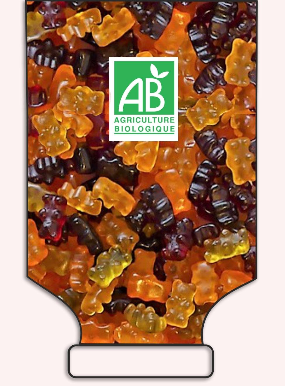 Bears fruit pectin in bulk - réf.1024