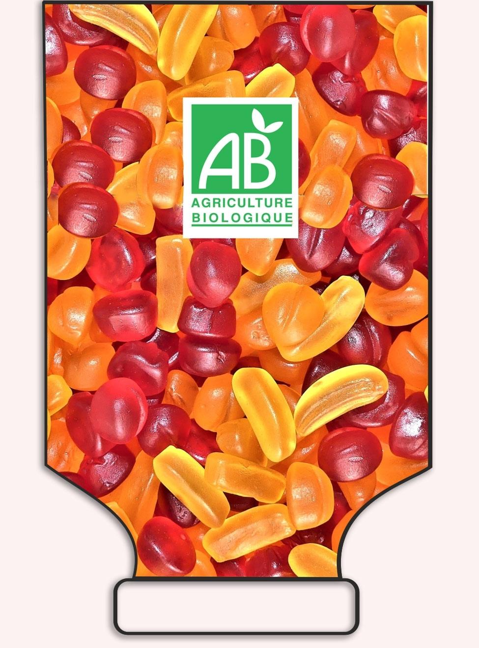 Petits Fruits Mix en sac- VEGAN - Origine France - réf.1038